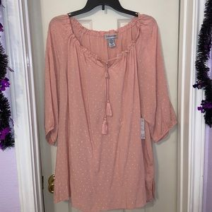 Catherine's Pink Blouse